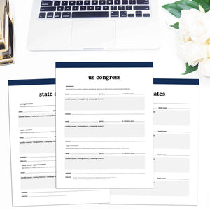 Political Planner | Classic-Rings and Disc Planner-Confetti Saturday