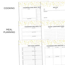 Load image into Gallery viewer, Thanksgiving Planner | Signature Confetti