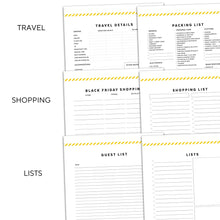 Load image into Gallery viewer, Thanksgiving Planner | Signature Stripe