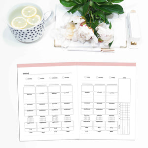 Weekly Wellness Planner, Undated, WO2P | Classic