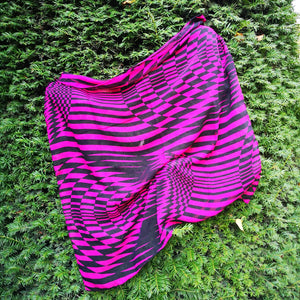 Foulard Pink Psychedelic