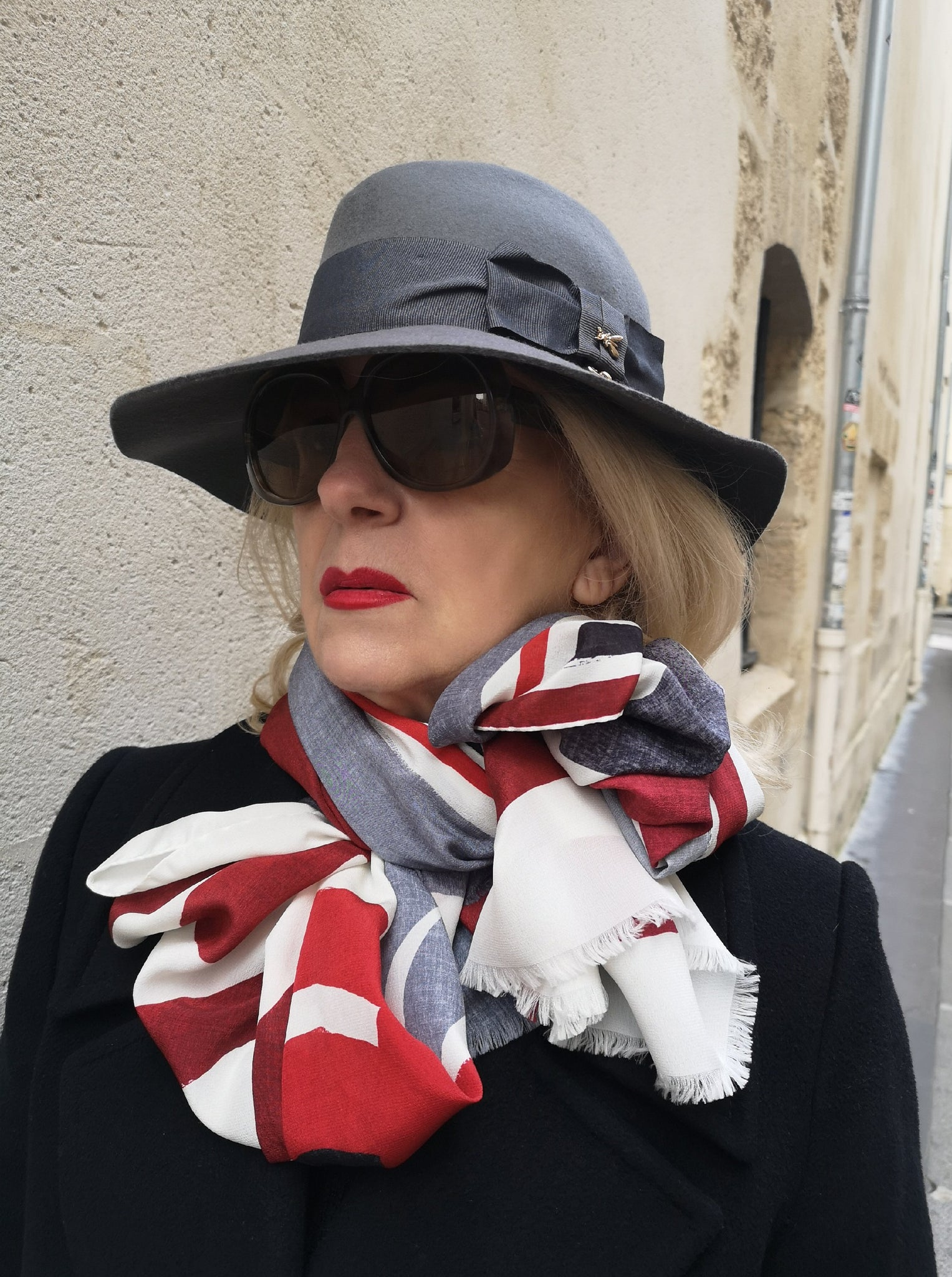 luxury pure silk scarf made-in-italy