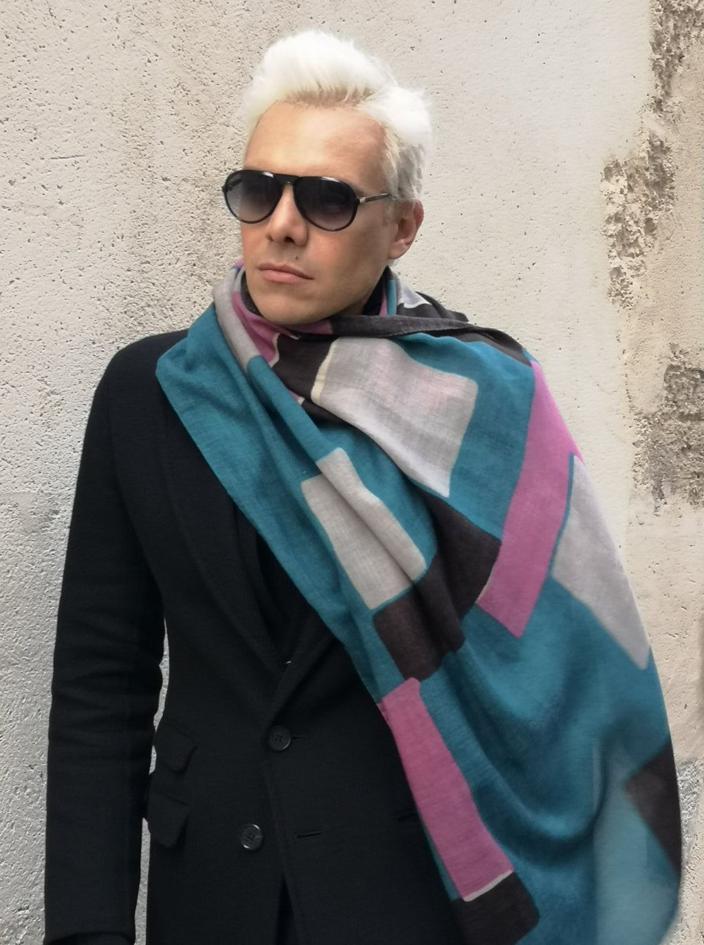 luxury scarf wool made-in-italy