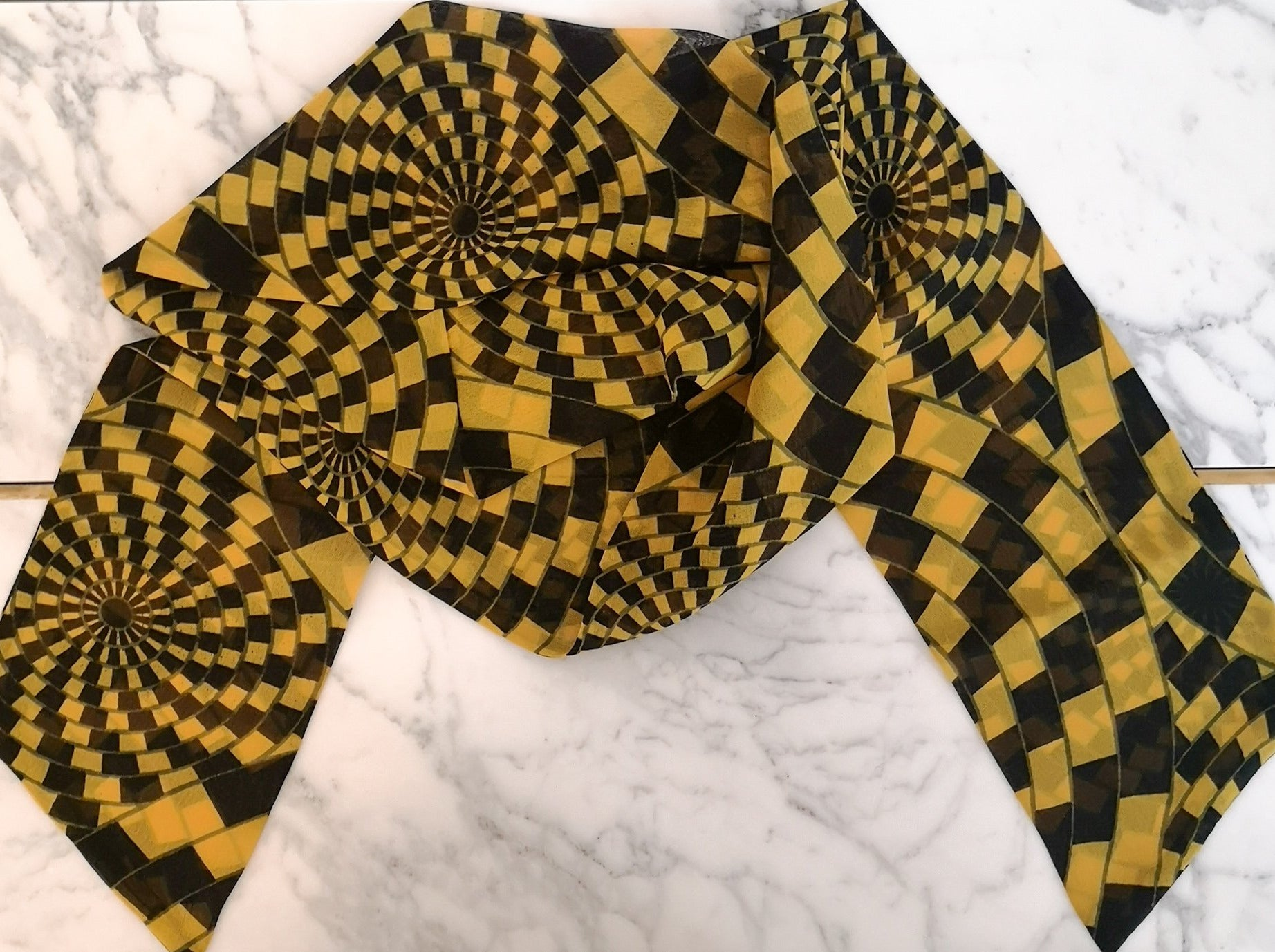 luxury pure silk scarf