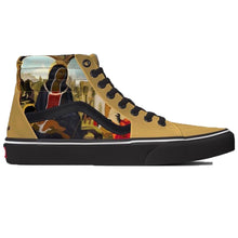 Load image into Gallery viewer, VANS X BLACK MADONNA SK8-HI SHOES GOLD - Black Picasso