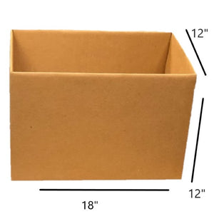 "18 x 12 x 12 "" (1.5 cu. ft) Small Moving Box"