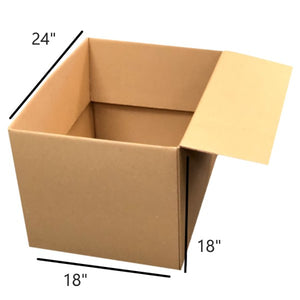 "24 x 18 x 18"" (4.5 cu ft) Large Moving Box"