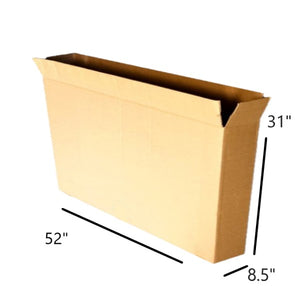 "52 x 8&#189 x 31"" Bike Box, Full Overlap"