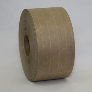 "3"" Reinforced (Kraft) Tape, Water-Activated"