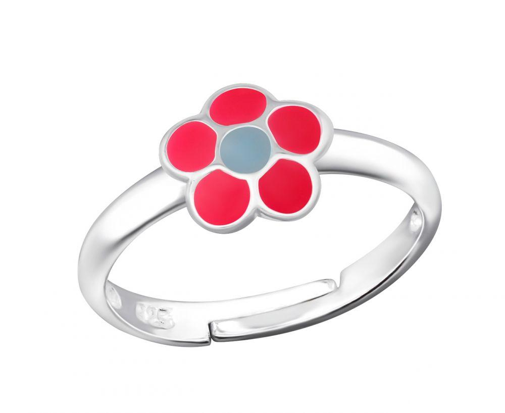 Children's Silver Flower Ring