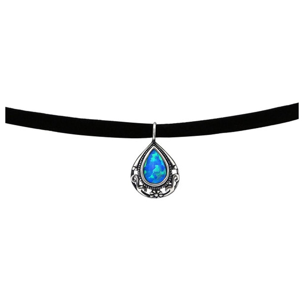 Teardrop Choker Necklace