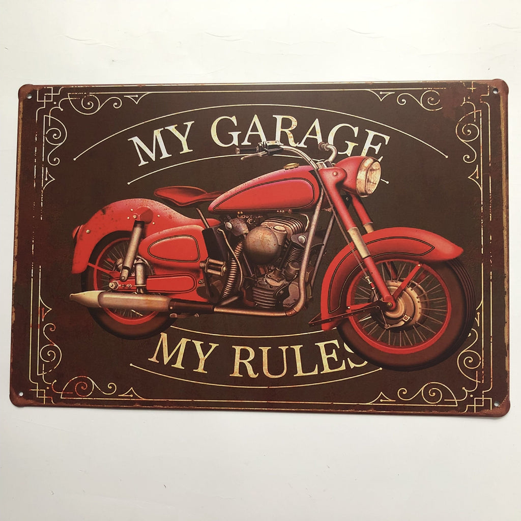 My Garage My Rule  Poster