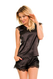 Luxury Sleepwear Nightwear with Shorts Set