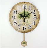 3D Tree Pendulum Wall clock