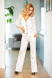 Esta Classic Satin Ladies Pyjama Set