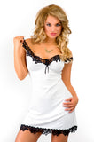 Light viscose chemise - ecru