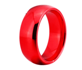 Tungsten Red Wedding Ring