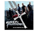 Fast and Furious- Cross Crystal  Pendant Necklace