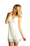 white Camisole Chemise Nightgown