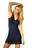 black Camisole Chemise Nightgown