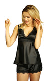 luxury Satin Sleepwear Set - Back