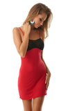Knitwear  Red Chemise  Set