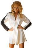 Satin Dressing Gown and  Bath Robe