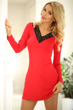 Long sleeved  Nightwear Chemise