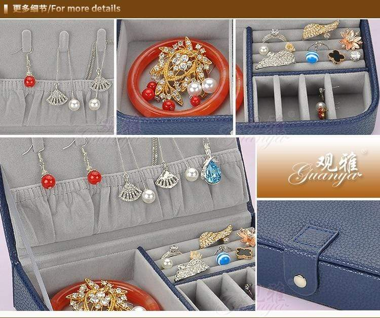 Leather Jewellery Box for Kids
