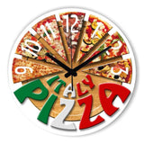 Kitchen Decorative  Pizza Wall Clock