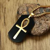 Ankh Key to Life Egyptian Symbol Cross Necklace