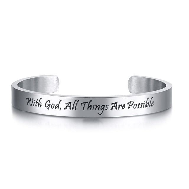 Motivational Quote Bracelets