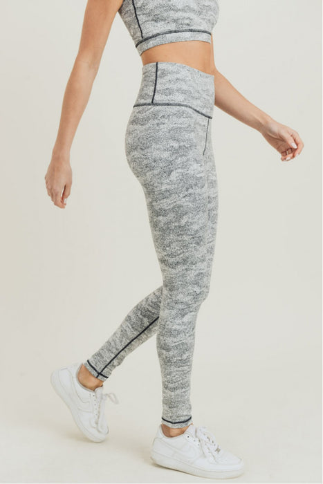 Summit Active Leggings - Snowstorm