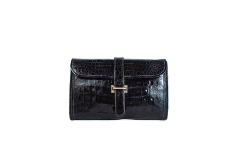 Olivia - Electric Blue (navy) clutch