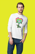 Neon Pansy Logo Long Sleeve T-Shirt