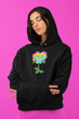 Neon Pansy Logo Hoodie