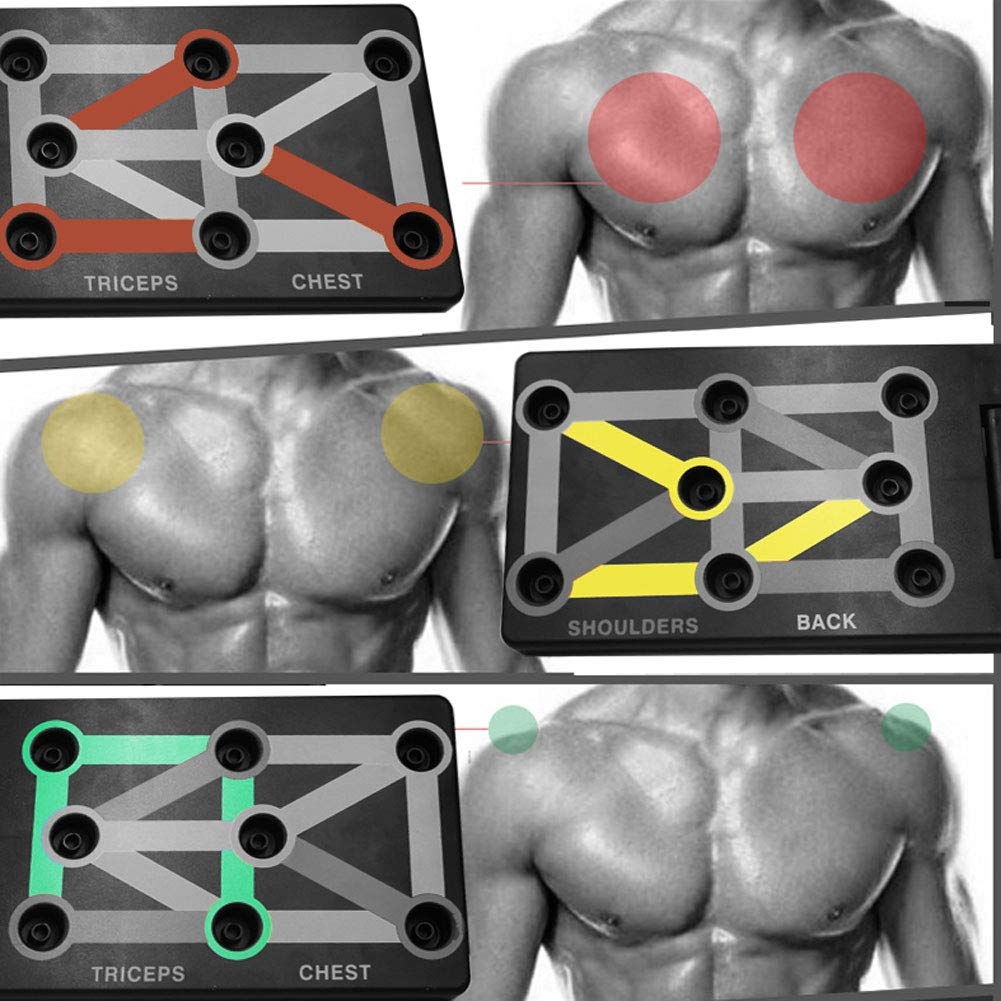 UNISEX BODYBUILDING PUSH UP BOARD