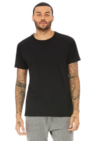 Triumph Crew Neck Tee - Solid Black Triblend