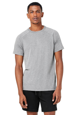 Triumph Crew Neck Tee - Grey Heather