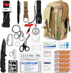 Emergency Survival Gear Military Medical First Aid Kit Outdoor Adventure Camping Hiking Military Essential Camp equipment tools