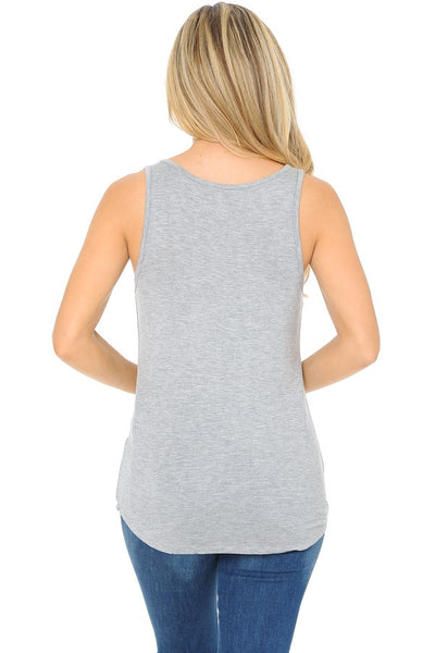 Tank Tops: Whiskey Makes Me Frisky Graphic Tank Top BCT034