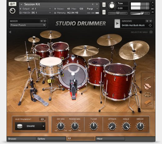 MIDI Loops For Studio Drummer