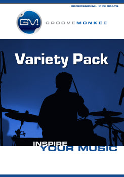 New! Variety Pack MIDI Drum loops