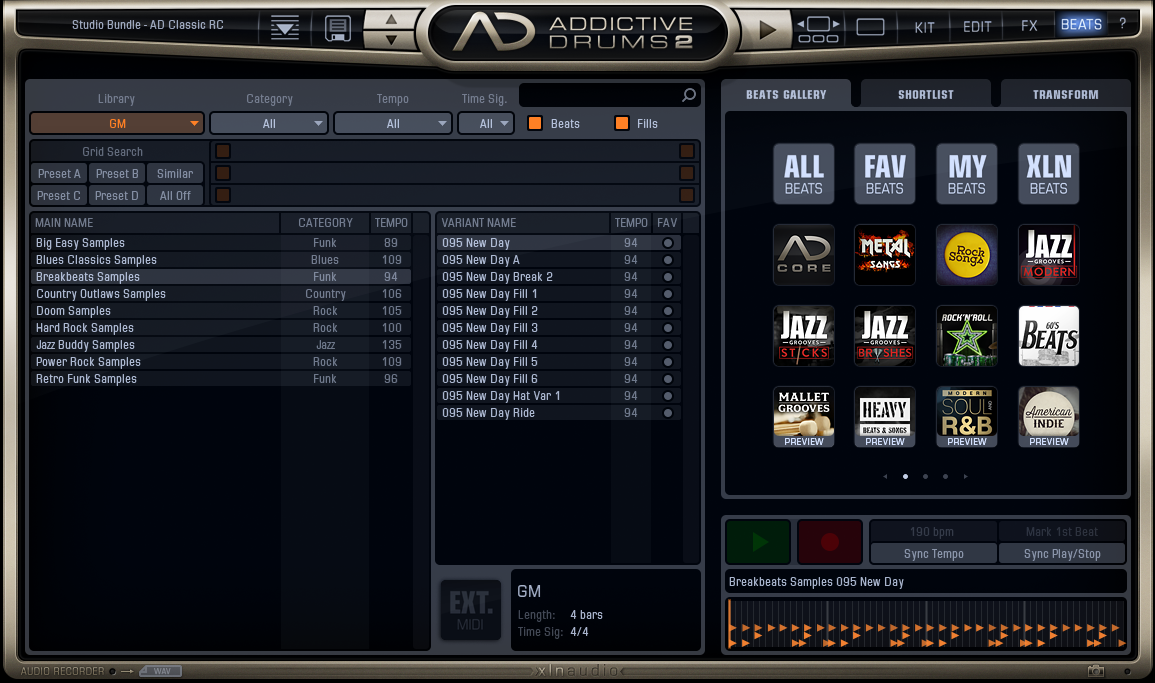 How to use general MIDI files in Addictive Drums 2 – Groove Monkee