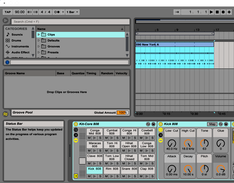 Ableton Live 808 kit