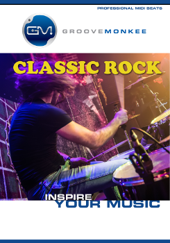 Classic Rock MIDI Drum Loops