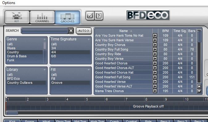 BFD Eco Interface