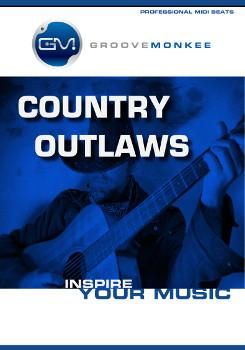 Groove Monkee Country Outlaws MIDI Loops