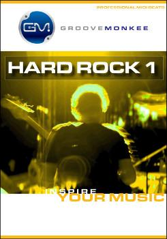 Groove Monkee Hard Rock MIDI Drum Loops