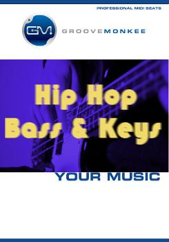 Groove Monkee Hip Hop Bass and Keys MIDI